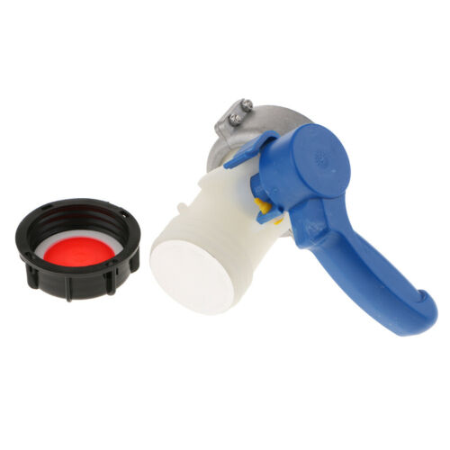 75mm IBC Absperrklappe Wasserhahnadapter für Öl und Wasserbehälter