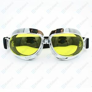 Off Road Motorcycle Goggles Motocross Dirt Bike Anti-UV Padded Racing Glasses