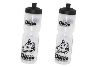 2-Stueck-Black-Dingo-Trinkflasche-1000ml-Sportflasche-1-Liter-fuer-Flaschenhalter