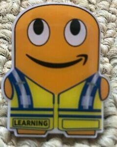 Learning-peccy-Amazon-Mitarbeiter-Pin