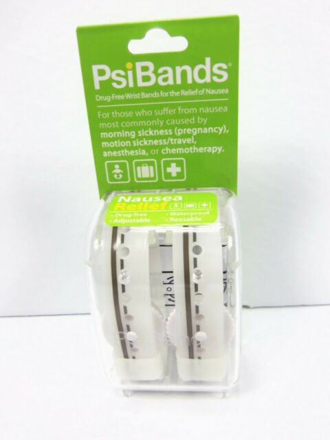 Psi Bands Acupressure Wrist Bands for The Relief of Nausea ...