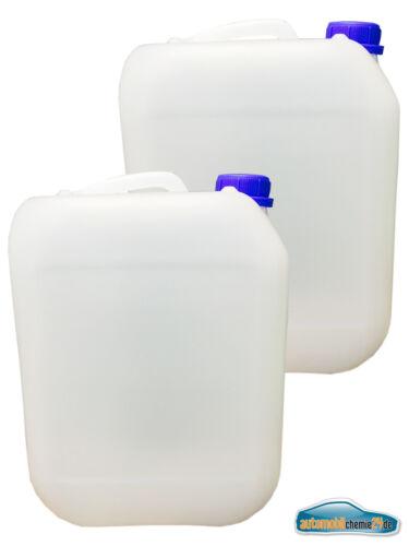2x 5L Kunststoffkanister Kanister Behälter Wasserbehälter Plaste Kanne mit Decke