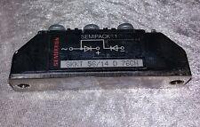 SEMIKRON Semipack 1 Thyristor Diode Modul SKKD 56/14 D 76CN Thyristormodul