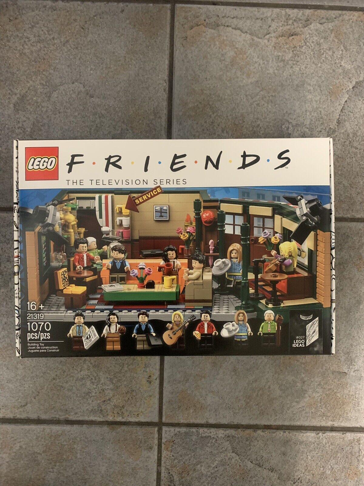 Lego Friends Central Perk ideas Set 21319, Nuevo Sellado