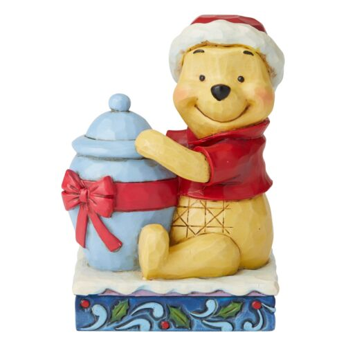 Disney Traditions 6002845 Holiday Hunny Winnie the Pooh Christmas Figurine