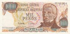 Billet banque ARGENTINE ARGENTINA 1000 PESOS NEUF NEW UNC