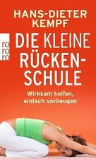 Die kleine Rückenschule von Hans-Dieter Kempf (2015, Taschenbuch) UNGELESEN