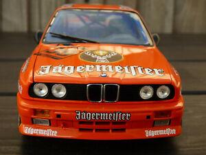 Raro-1-18-Minichamps-JAGERMEISTER-1988-BMW-M3-E30-DTM-ante-Racing-Coche-de-juguete