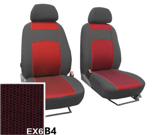 """VOLKSWAGEN T6 2015 ON UPHOLSTERY FABRIC /""""vip/"""" FRONT SEAT COVERS MADE TO MEASURE"""