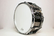 """Ludwig LB417 Black Beauty Snare Drum 6.5x14"""" USA"""