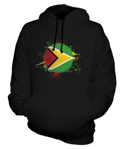Guyane Football Sweat à Capuche Unisexe Haut Cadeau Coupe Du Monde Sport