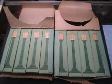COLBER BOULEVARD LAMPS 14V TWO BOXES OF 4 LAMPS IN ORIGINAL BOXES