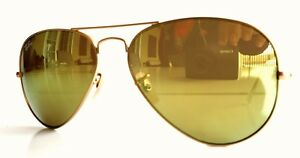 cce72507f3 Ray Ban 3025 112 93 Gold Frame Yellow Classic Lenses Aviator ...