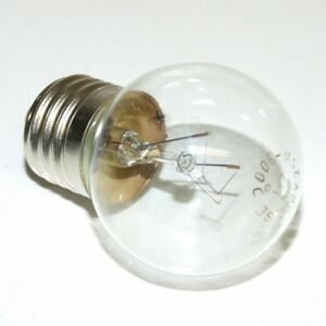 E27 25W 230V 300 DEGREE OVEN LAMP LARGE BULB CLEAR Incandescent LIGHT GLOBE GE+
