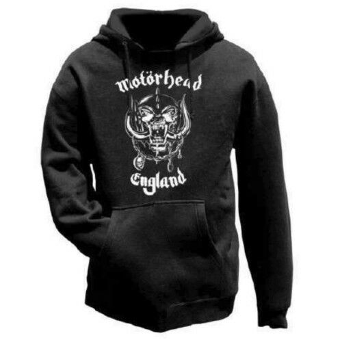 NEW /& OFFICIAL! Motorhead /'England/' Pull Over Hoodie