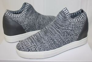 02392f45cc6 Steve Madden Sly Knit Slip On Sneaker style shoes Grey Multi New ...