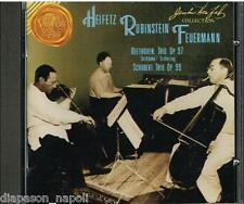 Beethoven: Trio Op.97; Schubert Trio Op.99 / Rubinstein, Heifetz, Feuermann - CD