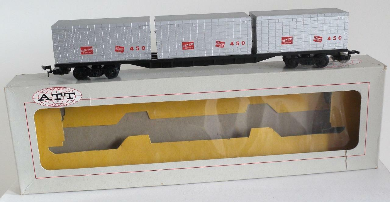 ATT (TRIANG  RAILWAYS) OO SCALE - R821 FLEXI VAN SERVICE CONTAINERS -450 (BOXED)