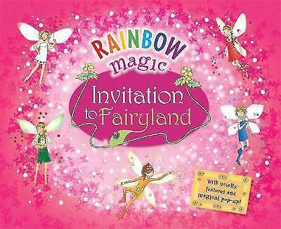 Rainbow Magic invitation to fairyland, Daisy Meadows | Hardcover Book | Good | 9