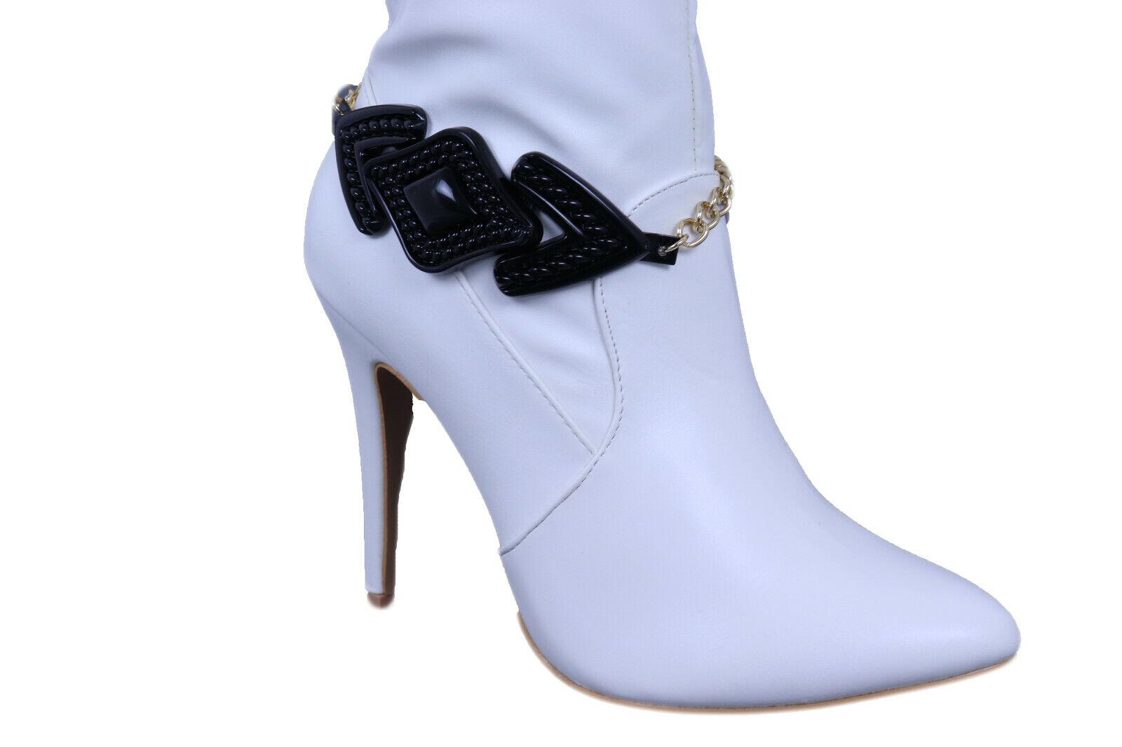 Women Metal Boot Chain Bracelet Shoe Bling Arrow Head Street Wear Style Charm