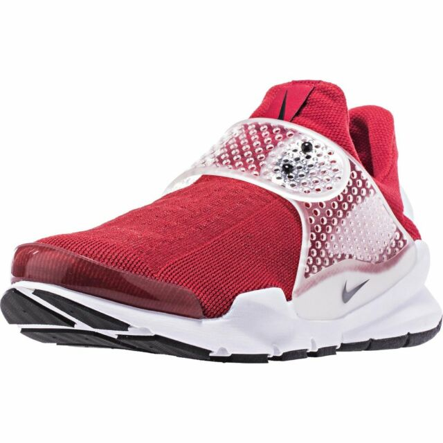 buy popular e1374 3681a Nike Sock Dart Slip-on Shoes Mens 12 Gym Red Black White 819686 601