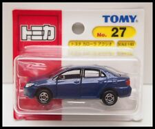 TOMICA #27 TOYOTA COROLLA AXIO 1/63 TOMY DIECAST CAR  27