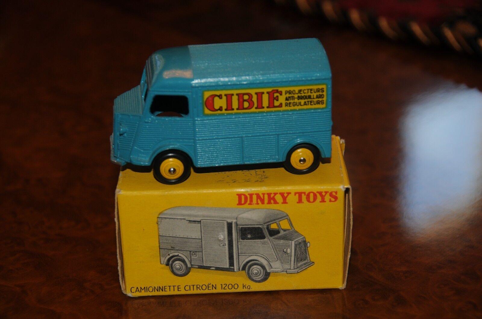 Vintage Dinky Toys   MIB   Citroen Van Camionette 1200 K   Cibie   No. 561