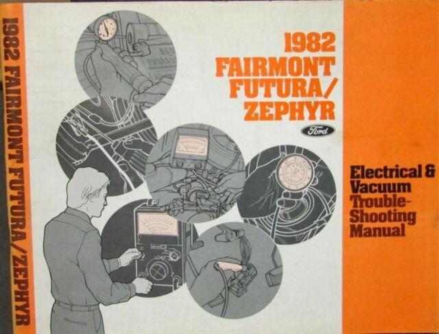 1982 Ford Mercury Electrical  U0026 Vacuum Diagram Manual