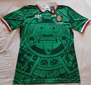 Mexico-1998-Home-Retro-Football-Shirt-Vintage-Soccer-Jersey