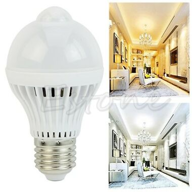 E27 5W 220V 18LED Infrared Human Motion Bulb