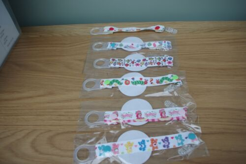 Holder//Dummy//Soother//Pacifier//chain The Snowman flight Dummies Clips