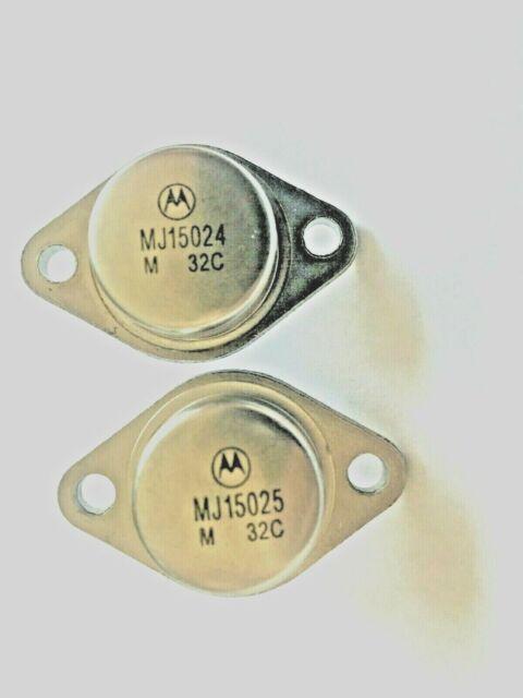 2 PCS MJ15025 TO-3 Bipolar Transistors 16A 250V 250W PNP