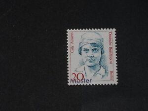 Berlin Mi.-Nr. 811 Frauen 20 postfrisch als Mustermarke - Deutschland - Berlin Mi.-Nr. 811 Frauen 20 postfrisch als Mustermarke - Deutschland
