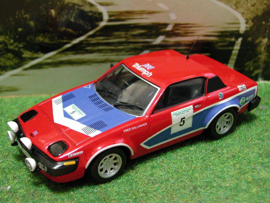 1 43 Triumph TR7 Rally  5 (1978) diecast