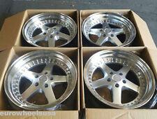 """18"""" ESR SR04 Wheels 18x8.5 +30 5X100 For VW Jetta Gold Passat MK4 Rims Set"""