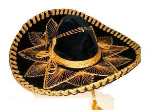 78f40694fee8b La imagen se está cargando 109-Sombrero-Charro-Sombrero-Mariachi -Mexico-Asstd-Color-