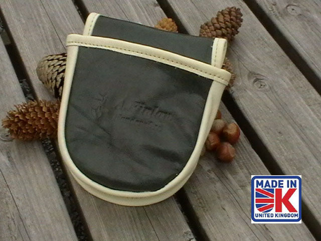 LEATHER SHOOTING CARTRIDGE BAG POUCH CLAY PIGEON SKEET SHOOTING SHOOTER CGL