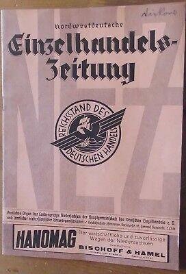 Diszipliniert Nordwestdeutsche Einzelhandelszeitung,konvolut,1935,5 Hefte,hannover AusgewäHltes Material