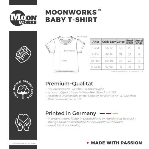 Baby T-Shirt kurzarm mit Spruch Alles Liebe zum Vatertag Geschenk Papa
