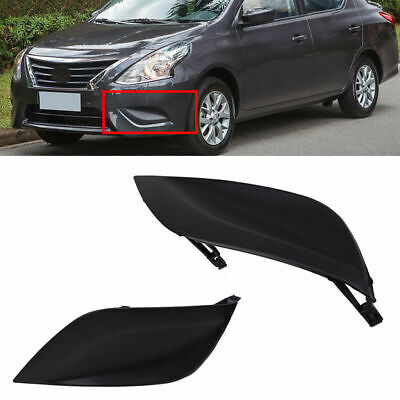 Left Mesh Fog Lamp Light Bezel Cover Trim for Nissan Versa Sedan B17 15-18 Part