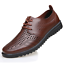 Summer-Business-Men-039-s-Breathable-Hollow-Out-Slip-On-Shoes-Casual-Leather-Shoes thumbnail 11