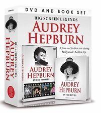 AUDREY HEPBURN BIG SCREEN LEGENDS BOOK & DVD GIFT SET - IN THE MOVIES