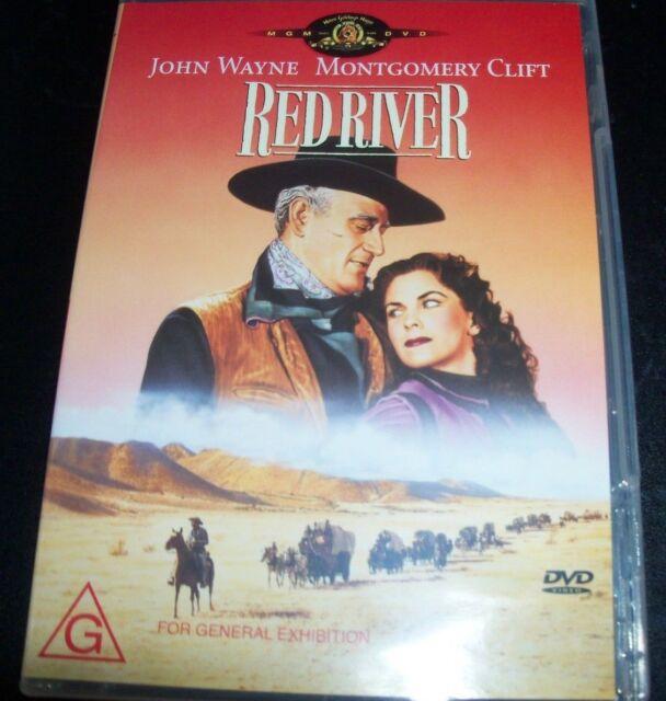 Red River (John Wayne Montgomery Clift) (Australia Region 4) DVD – New