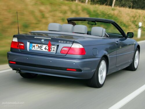 BMW NEW GENUINE 3 E46 CABRIO CONVERTIBLE WHITE TAILGATE THIRD STOP LIGHT LAMP