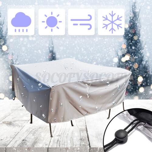 Waterproof Anti-UV Furniture Sofa Chair Table Cover Garden Patio Beach Protector