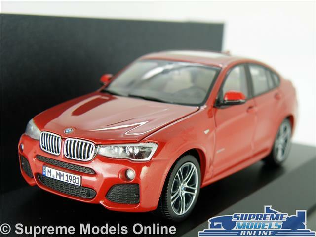 BMW X4 SERIES MODEL CAR 1 43 SCALE RED HERPA SPECIAL DEALER ISSUE 4X4 K8