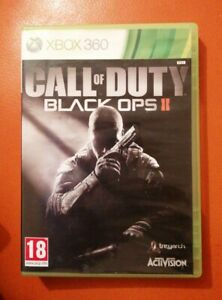 XBOX-360-GAME-CALL-OF-DUTY-BLACK-OPS-II-2-NICE-CONDITION-MICROSOFT-NO-MANUAL