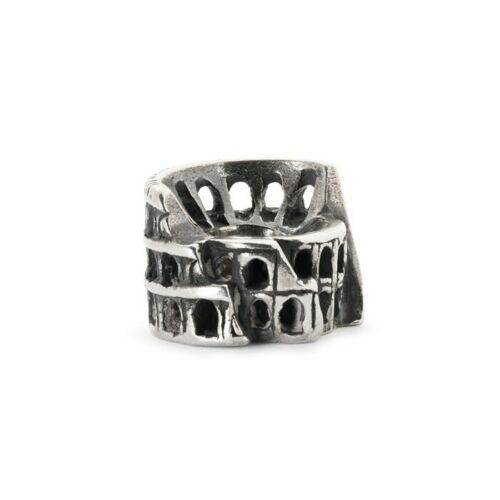 TROLLBEADS Bead in Argento Colosseo Roma TAGBE-30071