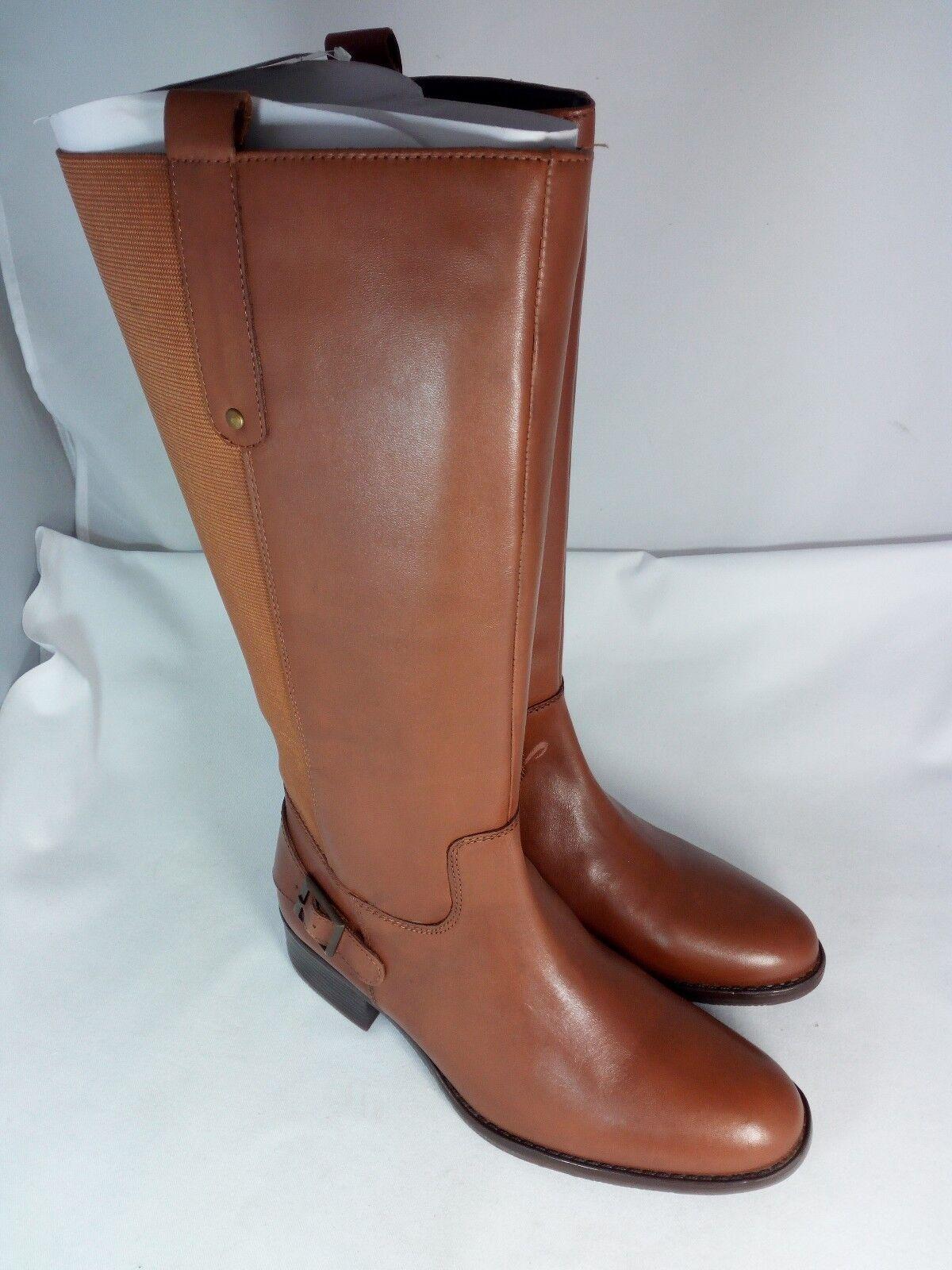 SHEEGO | Damen | Weitschaft-Stiefel | | Echtleder | braun | Weitschaft-Stiefel 184 329 XL | EU 41 8e7209