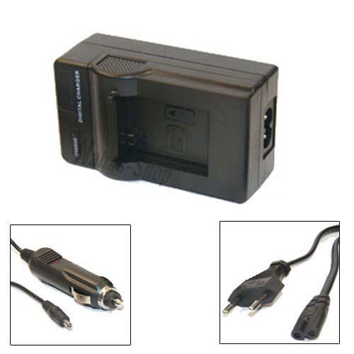dmc-fz30eg-k dmc-fz30eg-s Caricabatteria per Panasonic Lumix dmc-fz30eg dmc-fz30gk